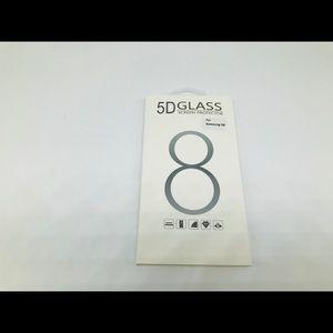 Galaxy S8 Edge to Edge  Glass Screen Protector